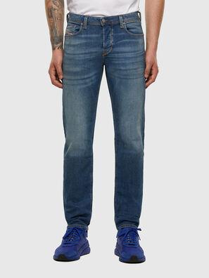 Larkee-Beex 009DB, Bleu moyen - Jeans