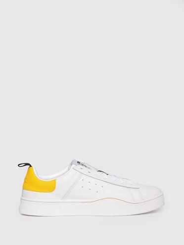 Sneakers en cuir avec emblème du mohawk
