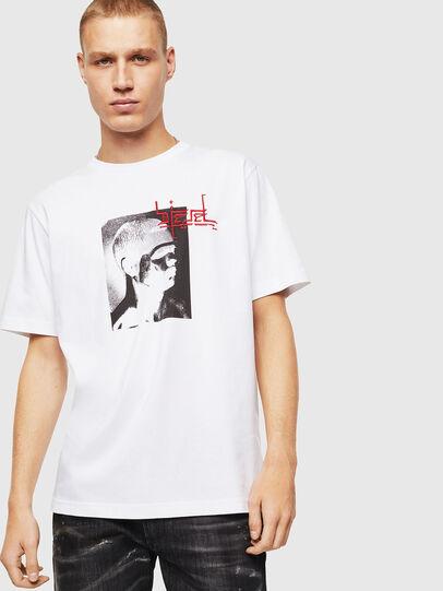 Diesel - T-JUST-J21, Blanc - T-Shirts - Image 1