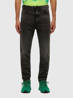 D-Vider JoggJeans 009FZ, Noir/Gris foncé - Jeans