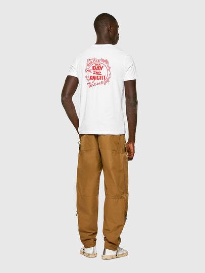 Diesel - T-DIEGOS-K15, Blanc - T-Shirts - Image 4