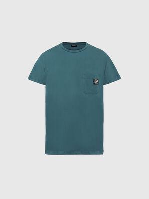 T-WORKY-MOHI, Vert d'Eau - T-Shirts