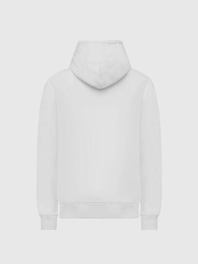 Diesel - S-GIRK-HOOD-X2, Blanc - Pull Cotton - Image 2