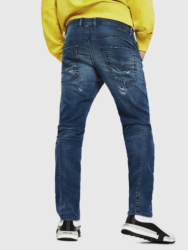Diesel - Krooley JoggJeans 069HA, Bleu moyen - Jeans - Image 2