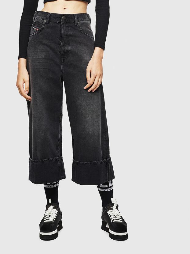 D-Luite 083AK, Noir/Gris foncé - Jeans