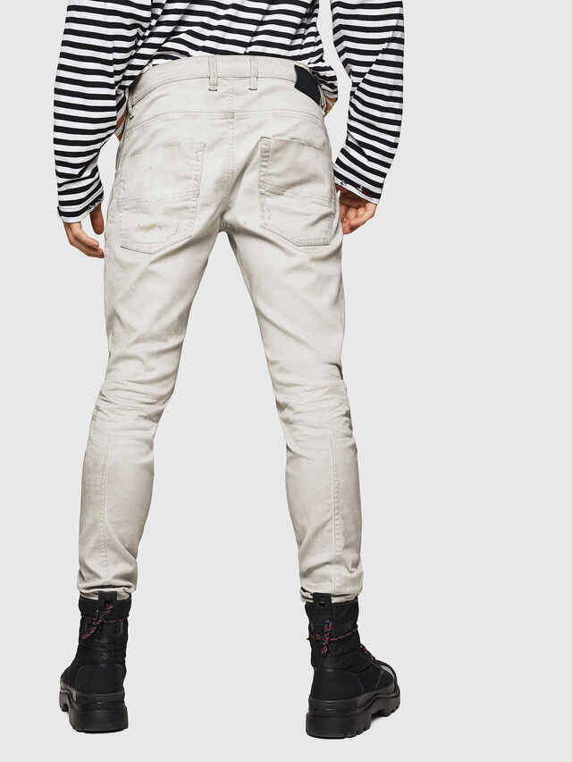 Diesel - Krooley JoggJeans 069GT, Gris Clair - Jeans - Image 2