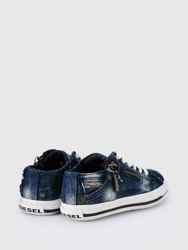 Diesel - SN LOW 25 DENIM EXPO, Jean Bleu - Footwear - Image 3