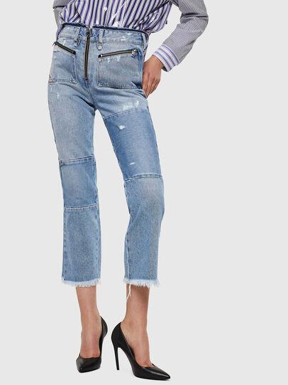 Diesel - D-Earlie 069GV, Bleu Clair - Jeans - Image 1