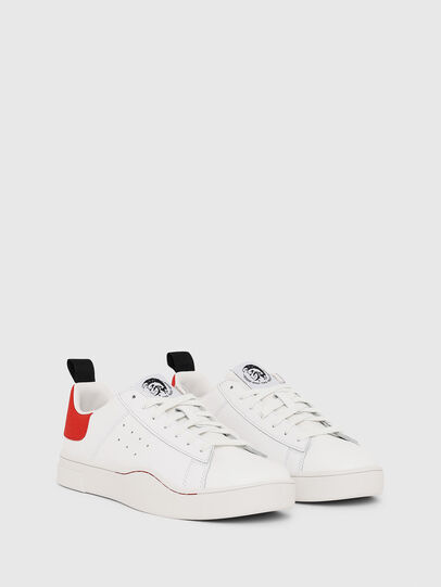 Diesel - S-CLEVER LOW, Blanc/Rouge - Baskets - Image 2