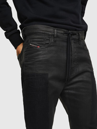 Diesel - D-Vider JoggJeans 0094P, Bleu Foncé - Jeans - Image 3
