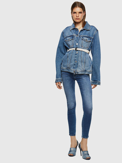 Diesel - Slandy Low 084NM, Bleu moyen - Jeans - Image 6