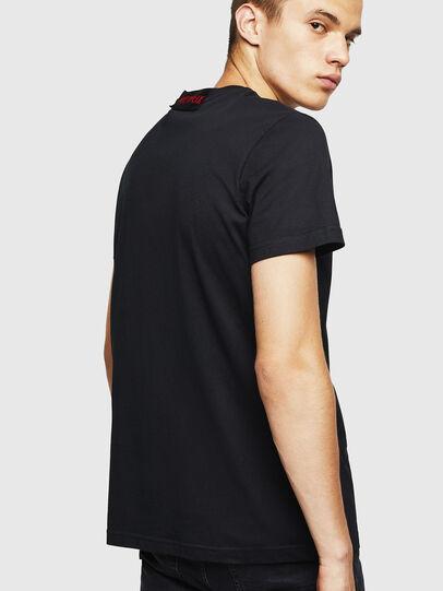 Diesel - LCP-T-DIEGO-MARSELLA, Noir - T-Shirts - Image 3
