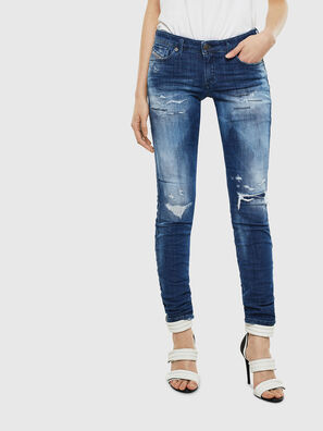 Gracey JoggJeans 0099S, Bleu Foncé - Jeans