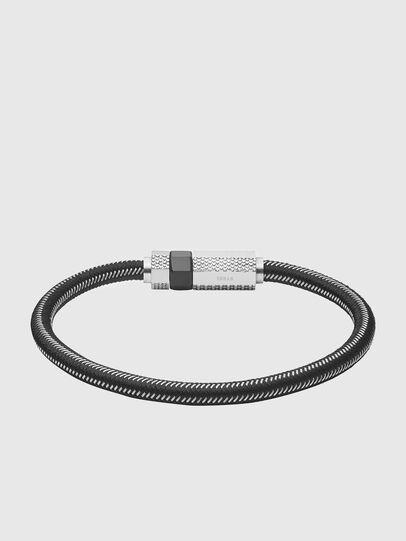 Diesel - DX1152, Noir/Gris argenté - Bracelets - Image 1