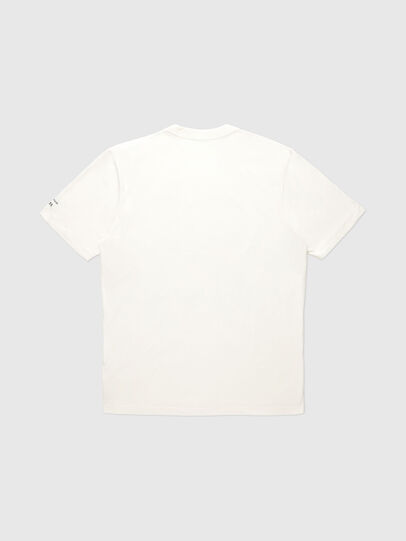Diesel - VE-T-JUST-RIALTO, Blanc - T-Shirts - Image 2