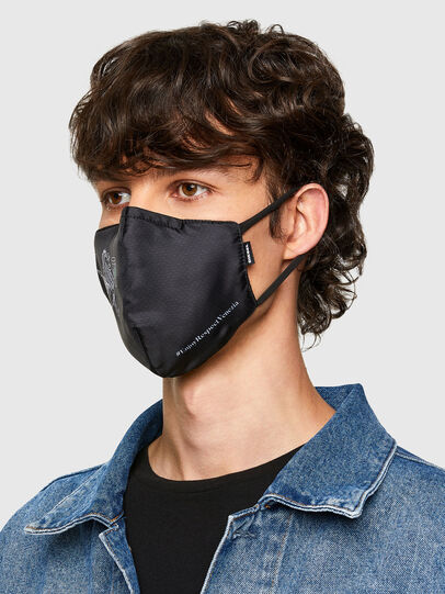 Diesel - VE-FACEMASK-LEO, Noir - Other Accessories - Image 3