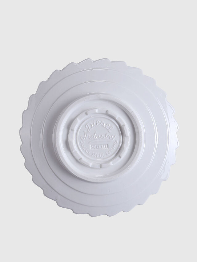 Diesel - 10985 MACHINE COLLEC, Blanc - Assiettes - Image 2