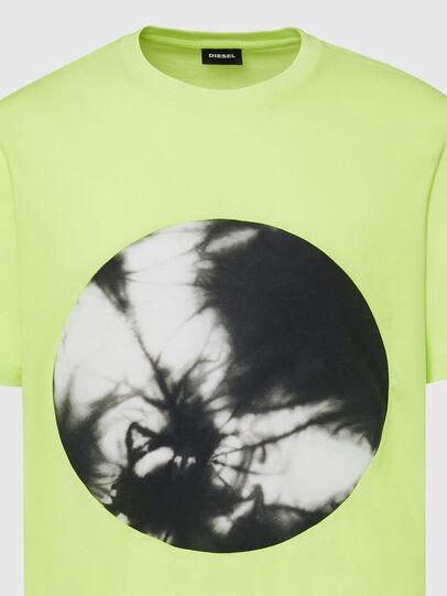Diesel - T-MOONY-X2, Vert Fluo - T-Shirts - Image 3