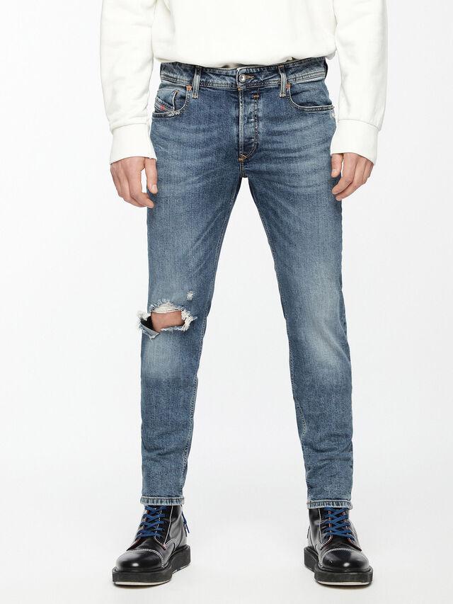 Diesel - Sleenker 069AI, Bleu moyen - Jeans - Image 1