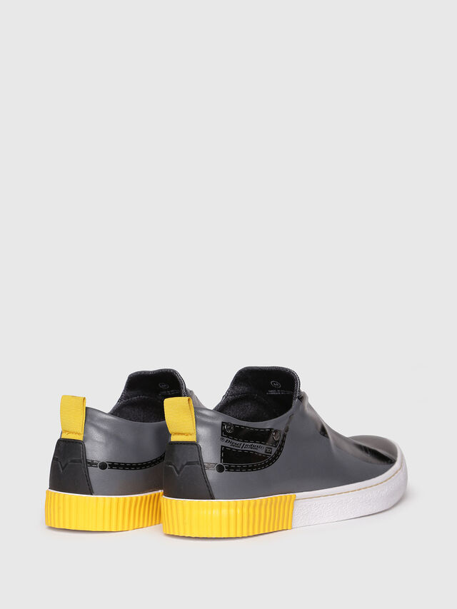 Diesel - S-DIESEL IMAGINEE LOW, Gris foncé - Baskets - Image 3