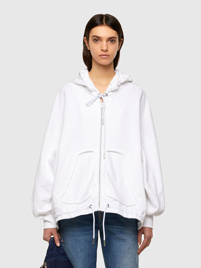 Diesel - F-BILLY-LOGO, Blanc - Pull Cotton - Image 1