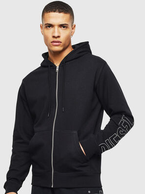 UMLT-BRANDON-Z, Noir - Pull Cotton