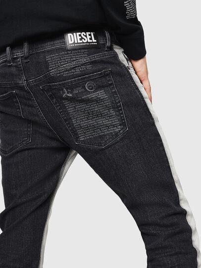 Diesel - Sleenker 082AX, Noir/Gris foncé - Jeans - Image 5