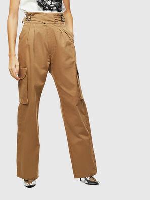P-CHIKU, Marron Clair - Pantalons