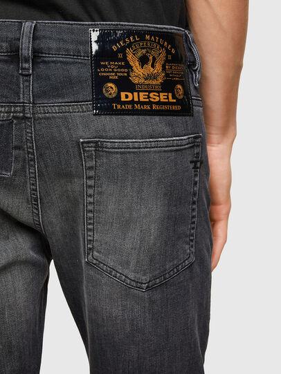 Diesel - D-Reeft JoggJeans® 009SU, Noir/Gris foncé - Jeans - Image 4