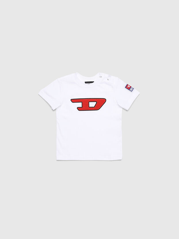 TJUSTDIVISIONB-D, Blanc - T-shirts et Hauts
