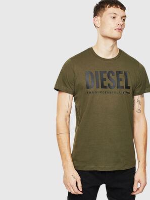 T-DIEGO-LOGO, Vert Militaire - T-Shirts