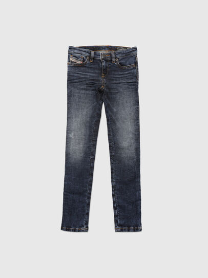 Diesel - SKINZEE-LOW-J JOGGJEANS-N, Bleu Foncé - Jeans - Image 1