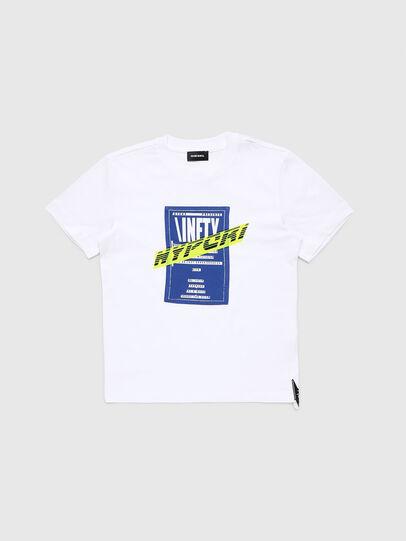 Diesel - TJUSTY7, Blanc - T-shirts et Hauts - Image 1