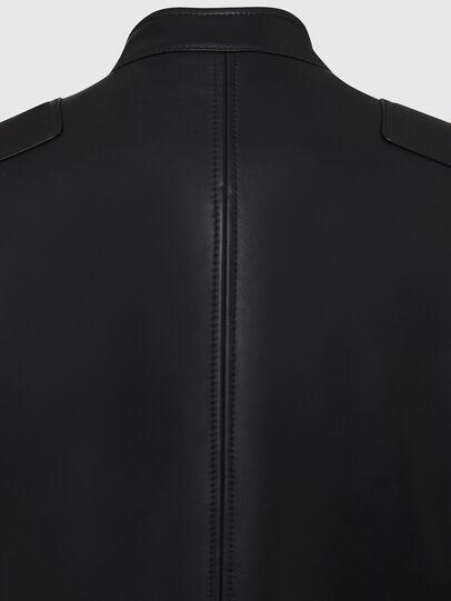 Diesel - L-BOY, Noir - Vestes de cuir - Image 4