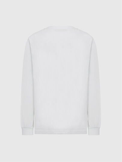 Diesel - T-JUST-LS-MOHI, Blanc - T-Shirts - Image 2