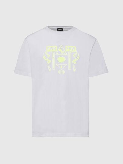 Diesel - T-JUST-X65, Blanc - T-Shirts - Image 1