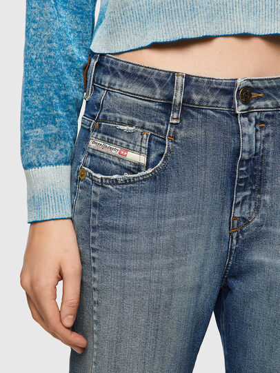 Diesel - Fayza 09A08, Bleu moyen - Jeans - Image 4
