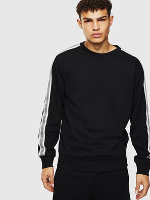 UMLT-WILLY, Noir/Blanc - Pull Cotton