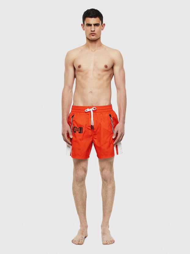 BMBX-WAVE-E42, Orange - Boxers de bain