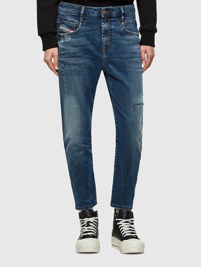Diesel - Fayza JoggJeans® 069SZ, Bleu Foncé - Jeans - Image 1