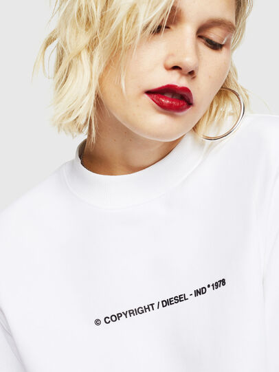 Diesel - F-ANG-COPY, Blanc - Pull Cotton - Image 3