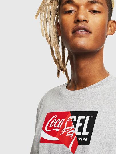 Diesel - CC-T-JUST-COLA, Gris - T-Shirts - Image 5