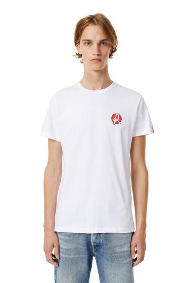 T-shirt slim Regular Diesel x L.R. Vicenza
