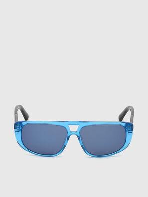 DL0306, Bleu/Noir - Kid Lunettes