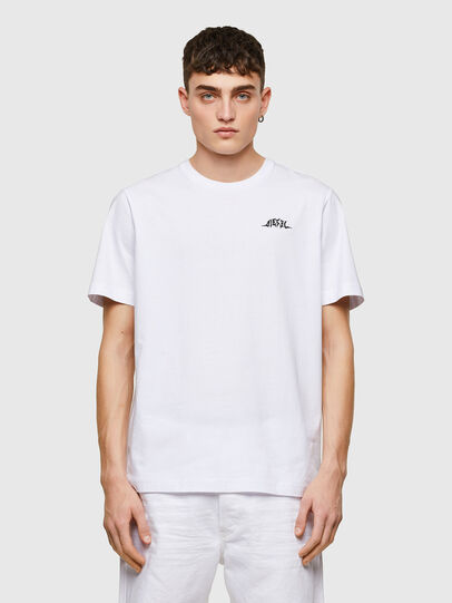Diesel - T-JUST-E15, Blanc - T-Shirts - Image 1