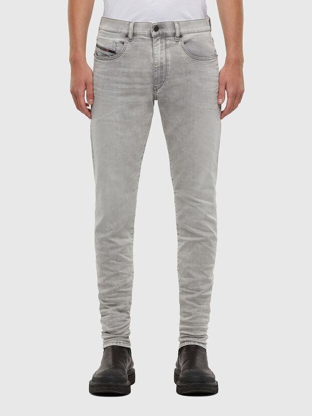 D-Strukt 069RE, Gris Clair - Jeans