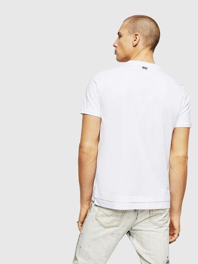 Diesel - T-DIAMANTIK-NEW, Blanc - T-Shirts - Image 2