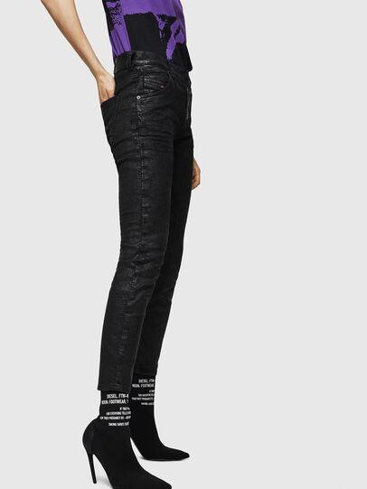 Diesel - Krailey JoggJeans 084AG, Noir/Gris foncé - Jeans - Image 5