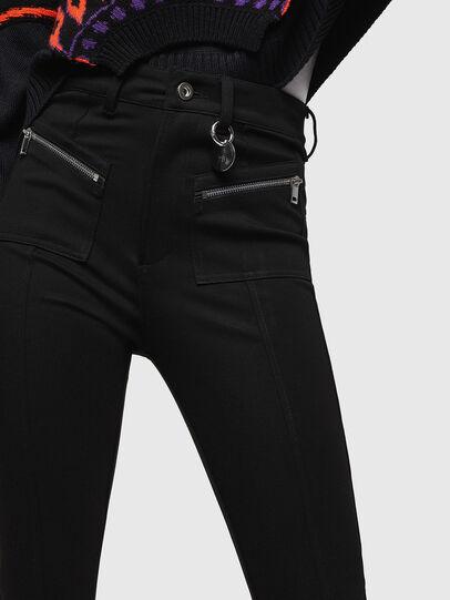 Diesel - P-NIKIA, Noir - Pantalons - Image 3
