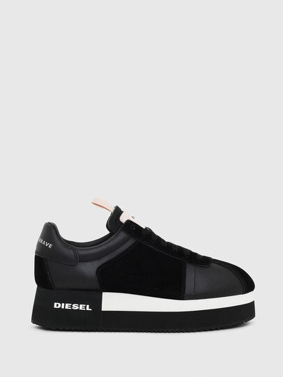 Diesel - S-PYAVE WEDGE, Noir - Baskets - Image 1